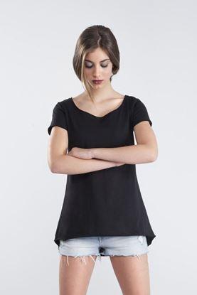 Immagine di T-shirt Donna Vesti Fiammata Longer