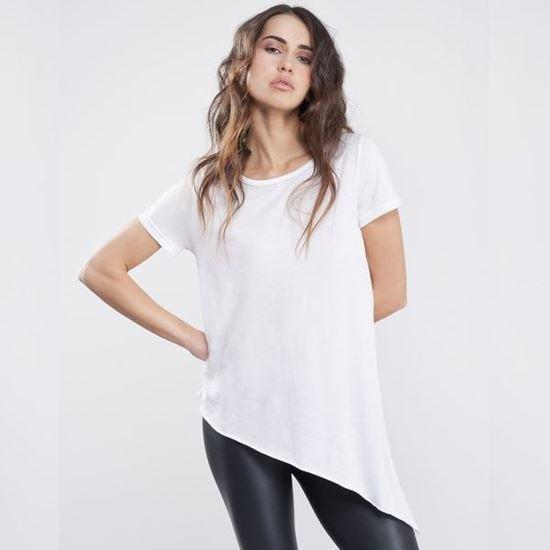 Immagine di T-shirt Donna Vesti Asimmetrica