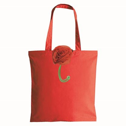 Immagine di Shopper ripiegabile in Poliestere Rosa 11104