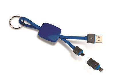 Immagine di Cavetto portachiavi USB 2 in 1