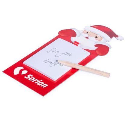 Immagine di Calamita Block Notes Babbo Natale