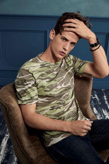 Immagine di T-Shirt Camouflage Anvil 939