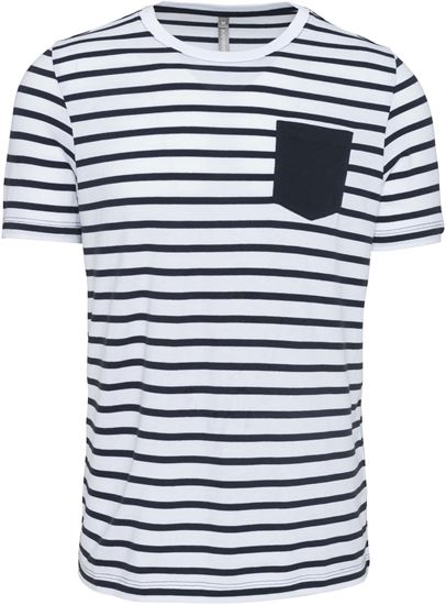 Immagine di T-shirt Uomo Marinaio con Taschino
