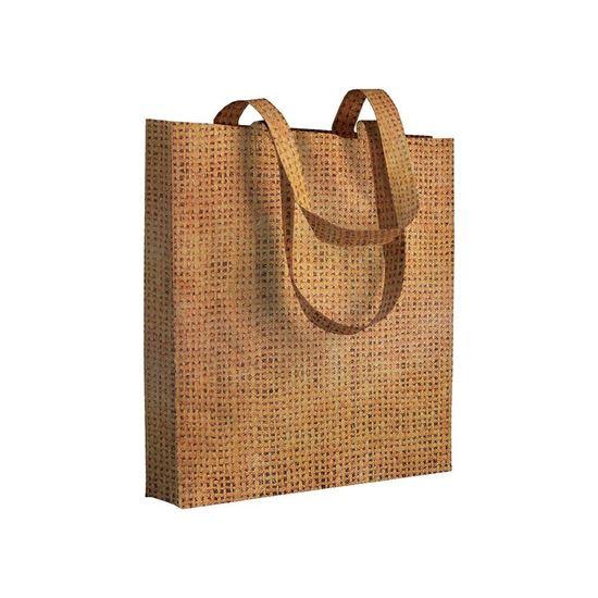 Immagine di Shopper in TNT effetto Juta