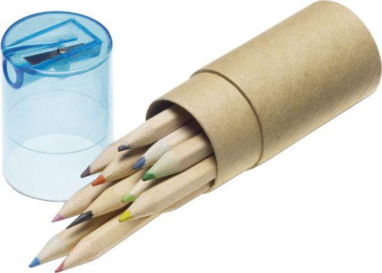 Immagine di Set 12 matite colorate con Temperino