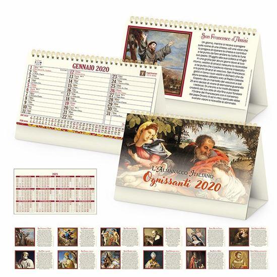 Immagine di Calendario da tavolo Santi