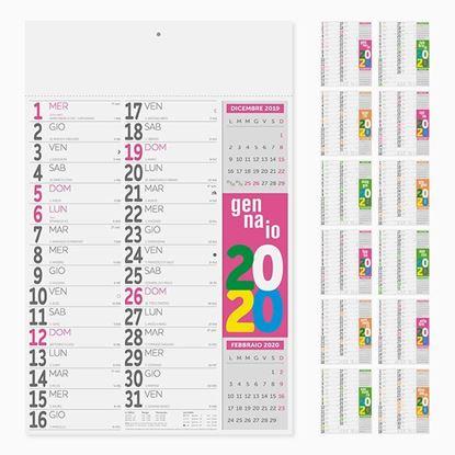 Immagine di Calendario Fluo