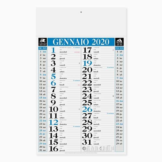 Immagine di Calendario Classic PA640