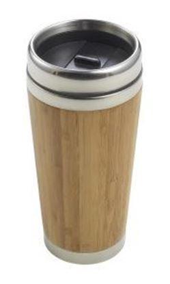 Immagine di Tazza termica in acciaio e bamboo 8947