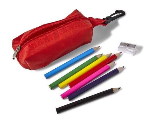 Immagine di Set 8 matite in legno colorate 7843