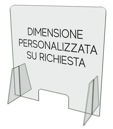 Immagine di Schermo di protezione parafiato DIMENSIONE SU RICHIESTA