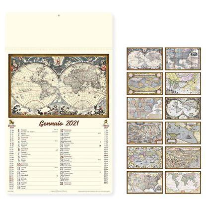 Immagine di Calendario antiche mappe PA012