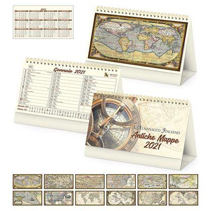 Immagine di Calendario da tavolo Antiche mappe PA062