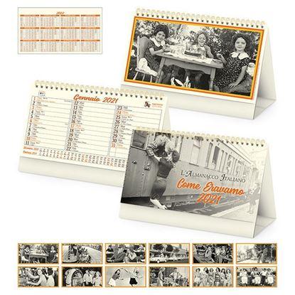Immagine di Calendario da tavolo come eravamo PA065