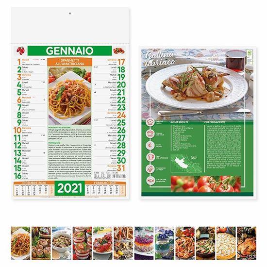 Immagine di Calendario Gastronomia PA132