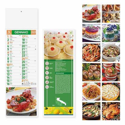 Immagine di Calendario Silhouette Gastronomia PA187