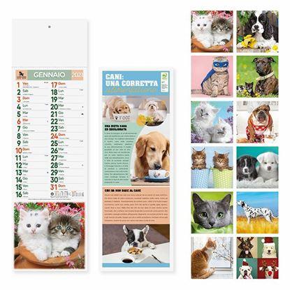 Immagine di Calendario Silhouette Cani e Gatti PA191
