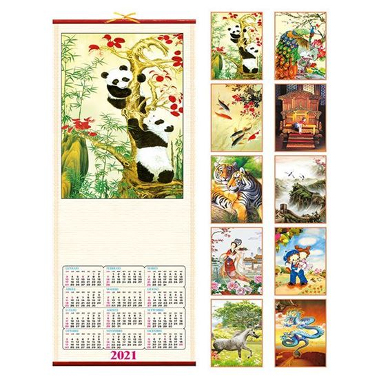 Immagine di Calendario Silhouette Bambù PA370