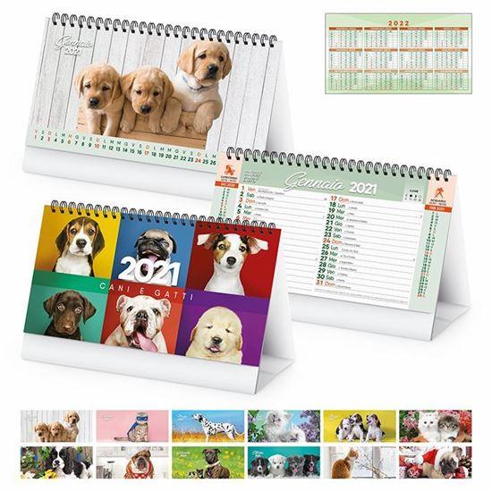 Immagine di Calendario da tavolo Cani e Gatti PA403