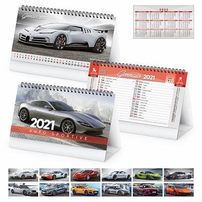 Immagine di Calendario da tavolo Auto sportive PA406