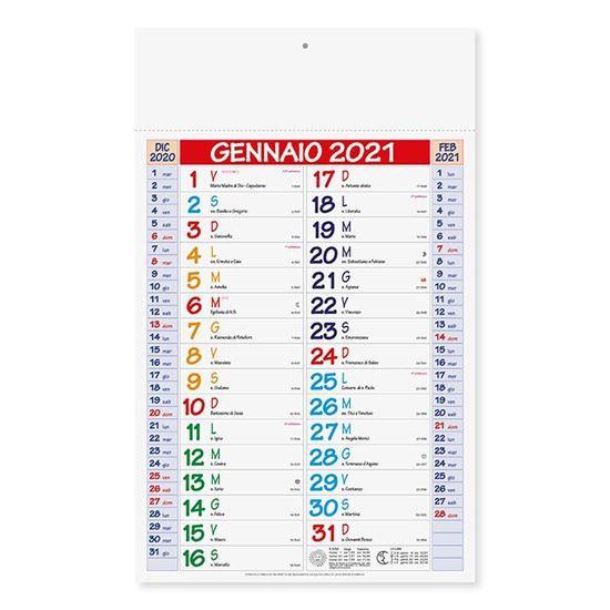 Immagine di Calendario Olandese Multicolor PA600