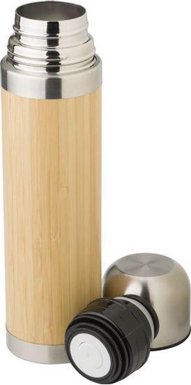 Immagine di Thermos in acciaio inox e bamboo 429221