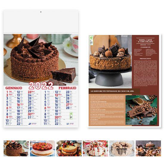 Immagine di Calendario Dolci PA169